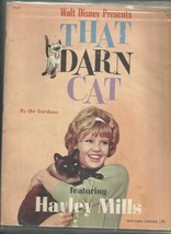 Walt Disney THAT DARN CAT MOVIE PROGRAM   Starring Haley Mills - $8.90