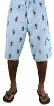 DGK Dirty Ghetto Kids Blue Weed Flavas Beach Swim Surf Board Shorts Spring Break