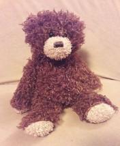 "TY CLASSIC brown SHAGGY TEDDY BEAR Stuffed Animal Plush 12"" 2015 - $9.49"