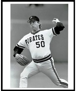 1988 Pittsburgh Pirates DAVE LAPOINT Pitching Original Photo Type 1 - $19.55