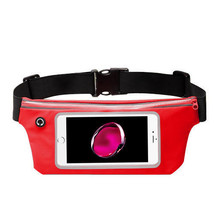 Waist Band Fanny Pack Phone Holder Red fits Sonim Xp7,Xp6 - $12.86