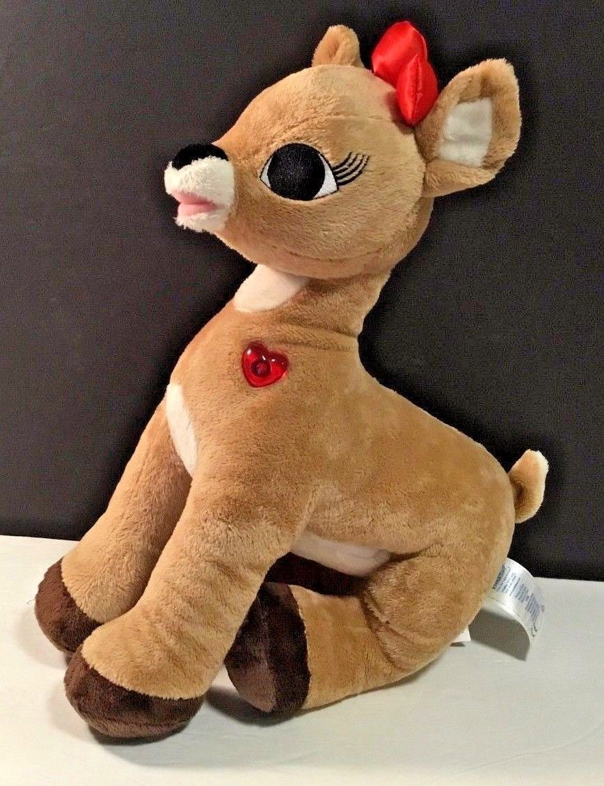 Light Up Rudolph Stuffed Animal