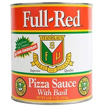 Full Red Pizza Sauce with Basil #10 image 1
