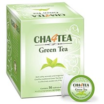 Cha4TEA Traditional Green Tea K Cups for Keurig Brewer 2.0 100% Natural ... - $19.63