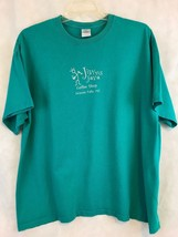 Gildan Jiving Java Granite Falls NC Green Short Sleeve Tee Shirt Size 2XL - $11.30