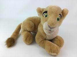 "Disney Store The Lion King Laying Young Nala Lioness 14"" Plush Stuffed Toy image 8"