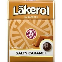 Cloetta Läkerol Salty Caramel Stevia  Swedish Sugar Free Candy 25g 0.85 oz - $3.96+