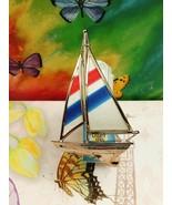Bath Body Works Beach Colorful Sailboat Nightlight Wallflower fragrance ... - $21.49