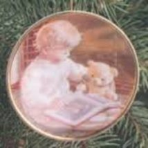 Carlton Cards Ornament A Child's Christmas 1st Edition Plate - $6.00