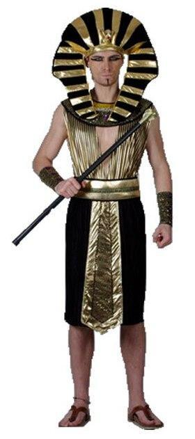 Egypt Pharaoh Costumes For Halloween Party Adults Clothing Egyptian Pharaoh King