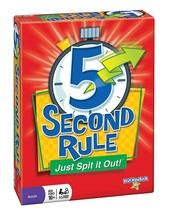 5 Second Rule - Just Spit it Out! by PlayMonster (Brand New, Factory Sea... - $24.95