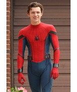 New Spider-Man Homecoming Costume Peter Parker Cosplay Leather Jacket - $99.99