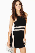 Kaamastra Intimates wear Womens  Wonderful Black Mini Dress - $44.00