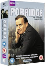 Porridge Complete Series 1-3 + Xmas Specials Ronnie Barker Collection Ne... - $23.95