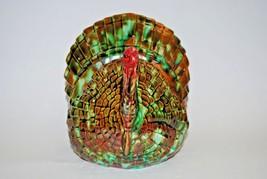 Ceramic Turkey Napkin Holder - $16.83