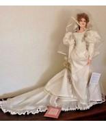 RARE LE # Franklin Mint Victorian Doll TruSculpt JULIANA BRIDE Pat Thomp... - $442.50