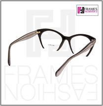 MIU MIU RASOIR MU03QV Eyeglasses Optical Frame Black Grey Translucent 51mm 03Q image 4