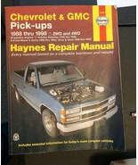 Haynes Chevrolet & GMC Pick Up Repair Manual 1988 thru 1989 - $13.88