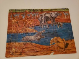K&M Toys Tray Puzzle African Animals 25 Piece - $3.91