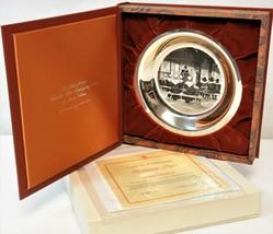 1974 3rd Annual Franklin Mint Thanksgiving Prayer Stevan Dohanos Collect... - $197.01