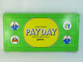 PAYDAY 1974 Board Game Parker Brothers 100% Complete Excellent Green Box #2 - $48.49