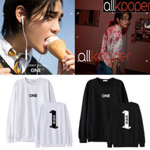 KPOP 1PUNCH ONE Sweater DEBUT TEASER Album Hoody Hoodie Pullover Sweater... - $13.99+