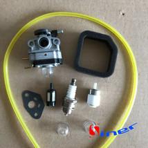 Carburetor Carb Kit Fit For Troy Bilt TB516EC Edger 29cc 4 Stroke Engines - $12.18