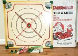 Carrom Game Board 108RS Original Box Square Corner VTG Merdel Gameboard - $39.90