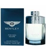 Bentley Azure by Bentley, 3.4 oz EDT Spray for Men - $34.16