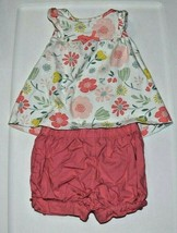 Child of Mine Floral 2-Piece Outfit Girls 3-6 Months - $7.57