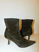 MICHAEL KORS ITALY SUEDE ANKLE BOOTIES BOOTS SIZE 9.5  - £21.85 GBP