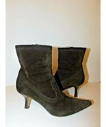 MICHAEL KORS ITALY SUEDE ANKLE BOOTIES BOOTS SIZE 9.5  - $28.71