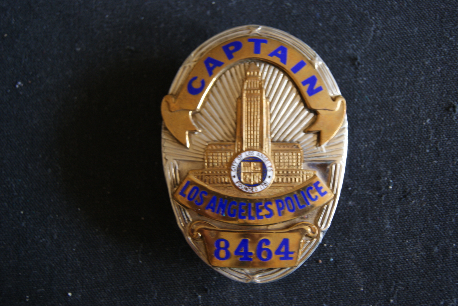 Los Angeles Police, Retired Police and similar items