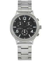 Lucky Brand Men's Chronograph Rockpoint Stainless Steel Bracelet Watch 42mm - $146.99