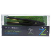 Titanium And Ceramic Professional Flat Iron - Model # Z-GLIDEC - Black b... - $77.00