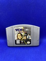 WCW vs. NWO World Tour (Nintendo 64, 1997) Authentic N64 Cart Only - Tes... - $16.37
