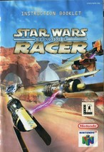 Star Wars: Episode One I: Racer - Nintendo 64 (N64) - Instruction Manual Only - $3.95