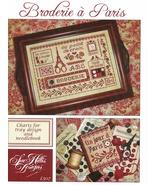 Broderie a Paris cross stitch chart Sue Hillis Designs  - $10.80