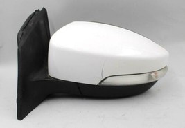 2015-2018 Ford Focus Left Driver Side White Power Door Mirror Signal Oem - $98.99
