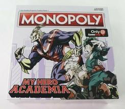 Hasbro My Hero Academia Monopoly Collectors Edition Game Stop Exclusive New - $39.95