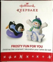 2016 Hallmark Keepsake Ornament - Frosty Fun For You - Limited Edition - $5.93