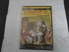 LUMAPIX FOTO FUSION SCRAPBOOK ESSENTIALS CD-ROM NEW - $9.99