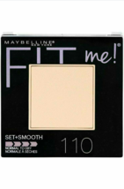 Maybelline Fit Me Set+Smooth Powder, normal to dry, Porcelain #110; New - $5.89