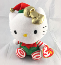 ad33570b122 TY Beanie Babies Hello Kitty Christmas Holiday Elf New with Tags -  9.99