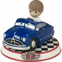 Doc Hudson Cars Precious Moments Figurine Disney Pixar Resin Boy NWOB  - $30.68