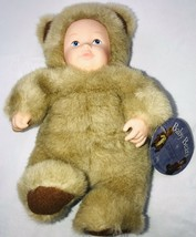Anne Geddes Vintage Baby Bears Bean Filled Collection Tan Brown NWT Doll... - $18.18