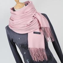 Thick Warm Cashmere Scarves With Tassel Doubles As A Shawl - $25.00