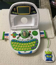 VTech Toy Story 3 Buzz Lightyear STAR COMMAND Laptop - Countless Features - $42.75