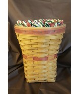 Longaberger 1998 May Series SNAPDRAGON Basket With Liner & Cone Protecto... - $28.00