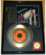 Star Trek Nichelle Nichols Autographed Gold Plated Record Ltd Num Matted... - $125.77